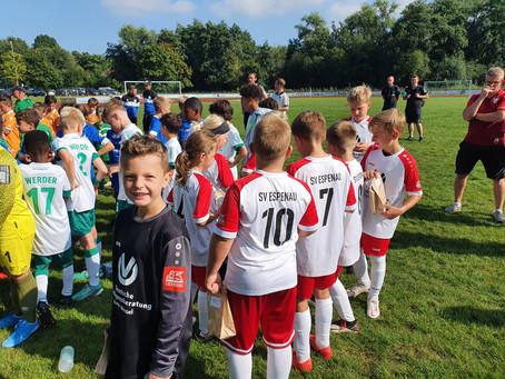 JSG E1 beim hochkarätig besetzen Sparkassen-Cup in Immenhausen