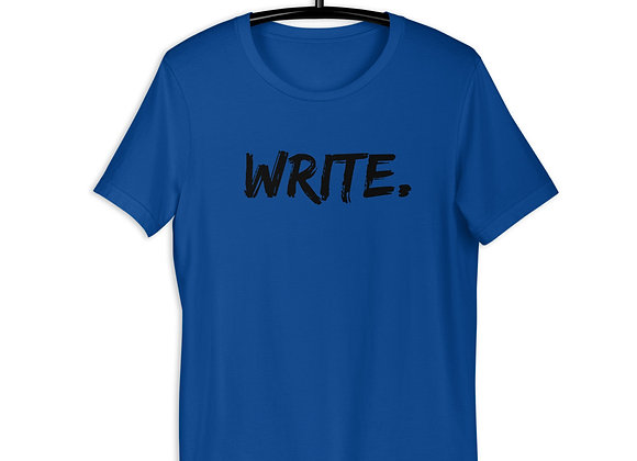 WRITE. Short-Sleeve Unisex T-Shirt