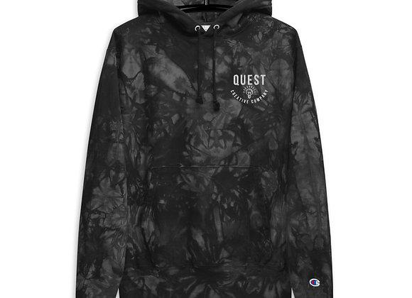 Quest Creative Company Champion tie-dye hoodie
