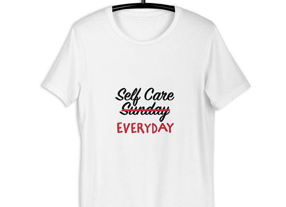 Self Care Everyday Short-Sleeve Unisex T-Shirt