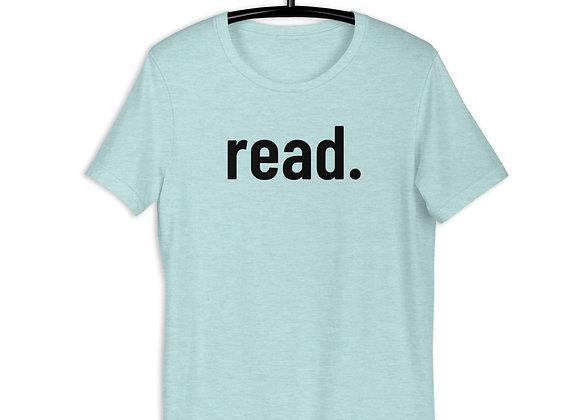 read. Short-Sleeve Unisex T-Shirt