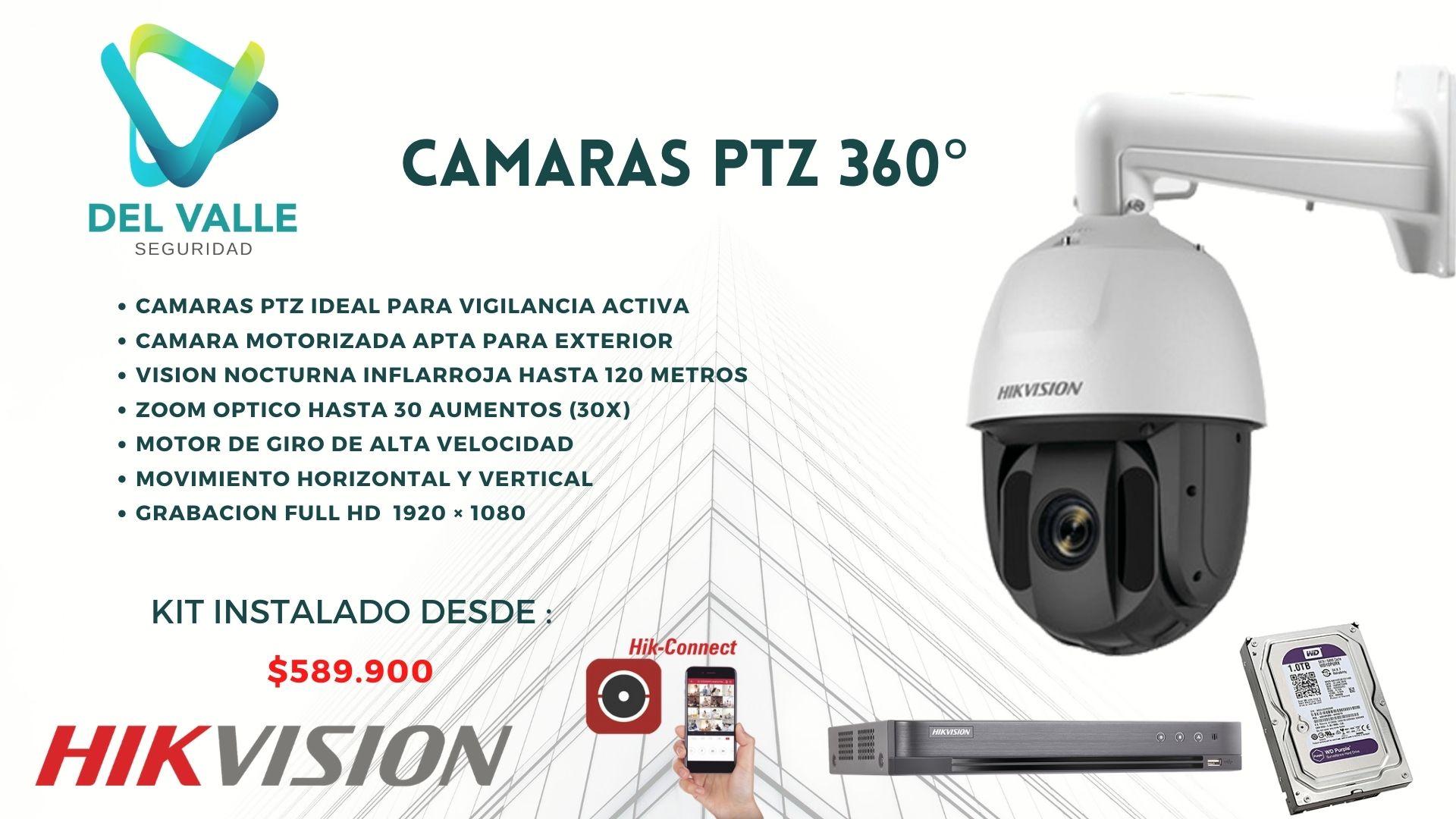 CAMARA PTZ 360