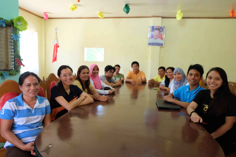 Juan with the Barangay