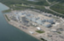 Darlington Nuclear Generating Station in Bowmanville Ontario