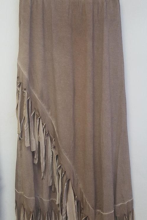 Fringy skirt
