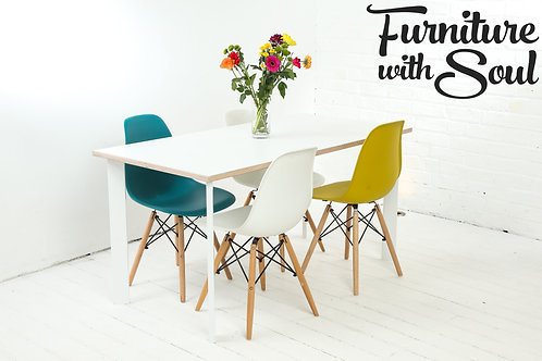 Square Pin Formica dining set