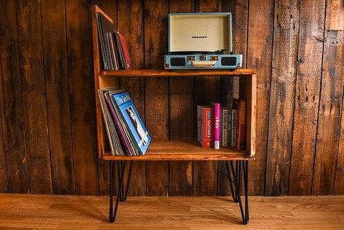 COOPER Live edge English Oak vinyl cabinet