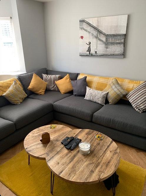 ALVAR - Nest of Circular Coffee Tables