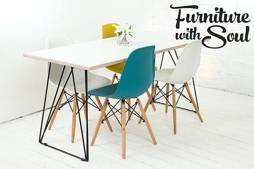 Pinframe Formica Dining Set