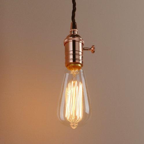 Edison ceiling pendant light
