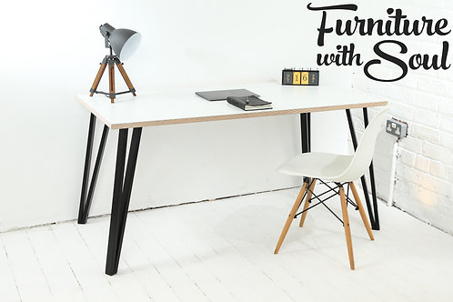 Box Pin Formica home office desk