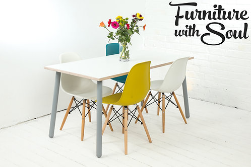 Round Pin Formica dining set