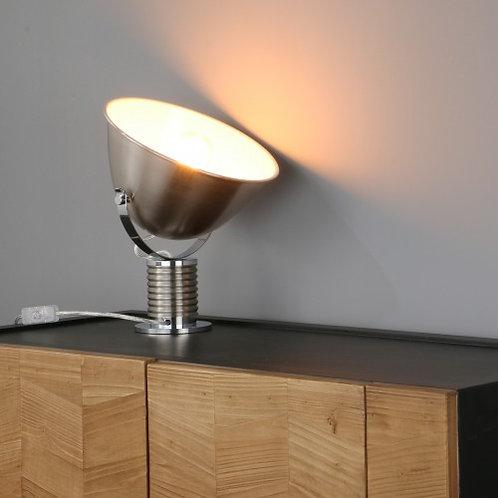 Steel swivel head desk lamp