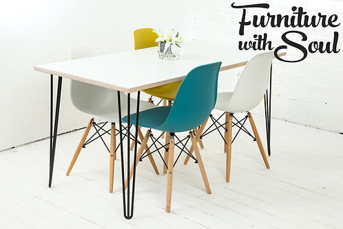 Hairpin leg dining set - Formica top