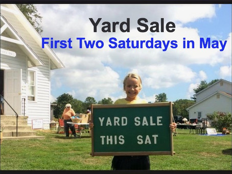 Yard Sale at Lower Marlboro