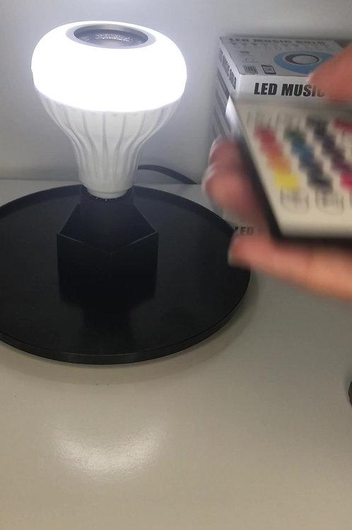 Audio Bluetooth Remote Controlled LED Bulb