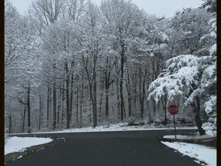 Snowed in? Be Still.