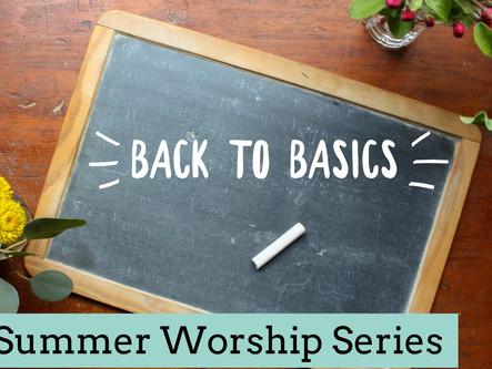 August Sermon Series