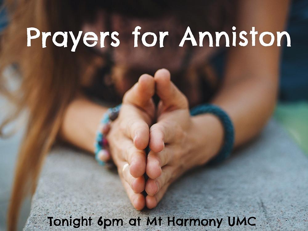 Prayer for Anniston