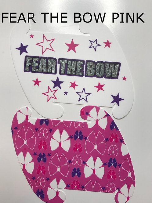 Fear the Bow Pink