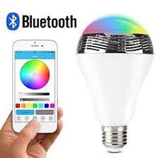 LED Smart Light Bulb with Bluetooth Speaker