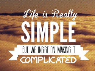 Complex Living?