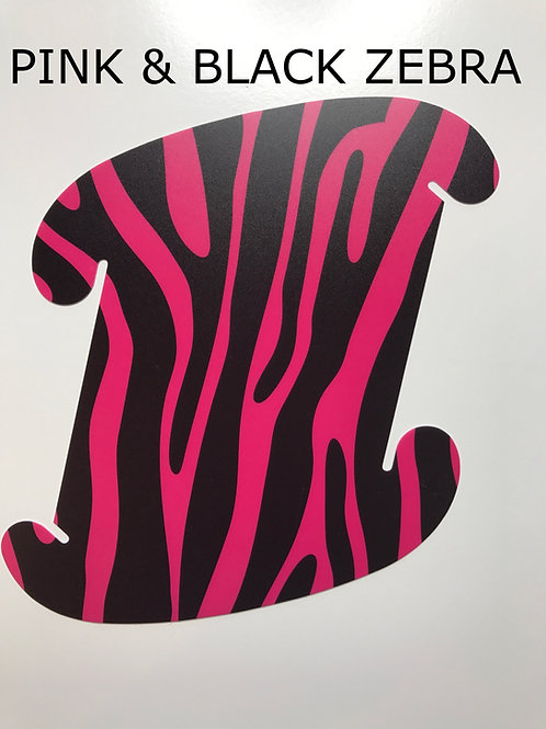 Pink & Black Zebra