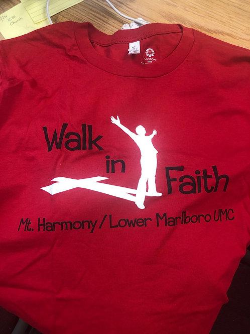 Walk in Faith V Neck