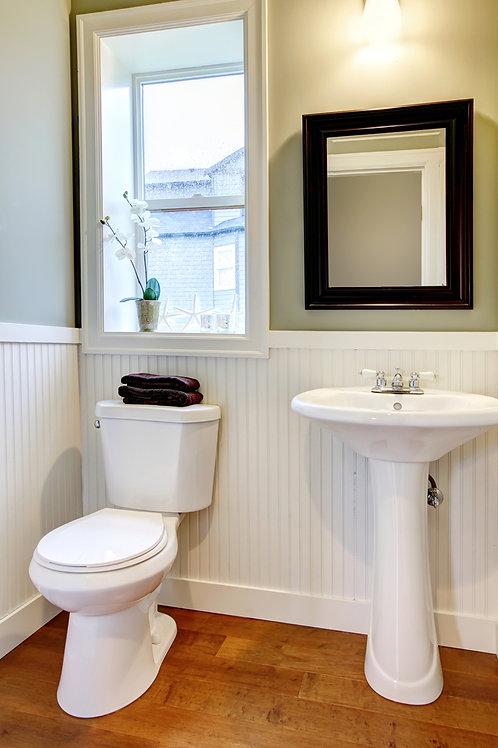 Guest House - Clean Half Bathroom