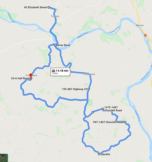 TK1 Morning Route
