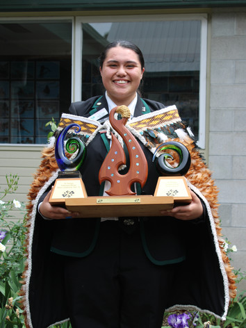 Te Puaha O Waikato Supreme Award (Huakina Development Trust): Chloe Judge