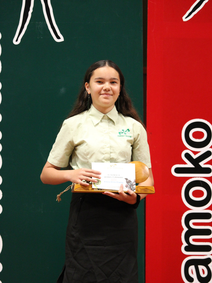 Tupu-aa-nuku Award: Emma-Anne Cowley