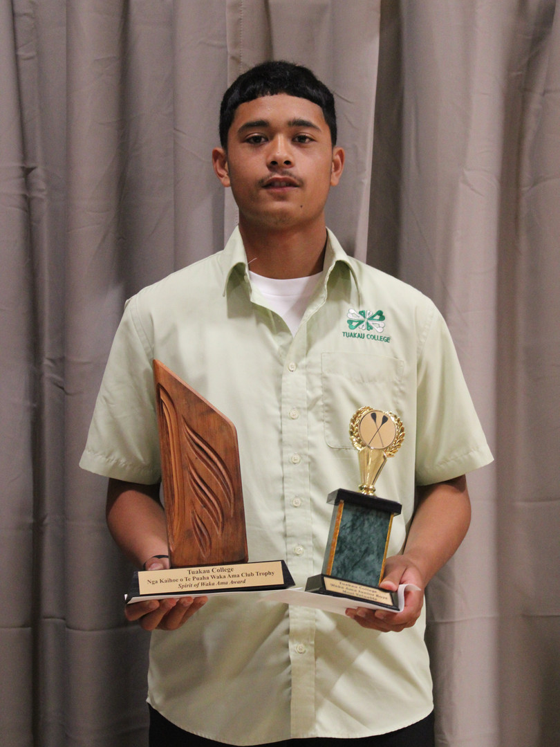 Spirit of Waka Ama Award - Teina Panapa