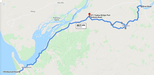 TK2 Morning Route