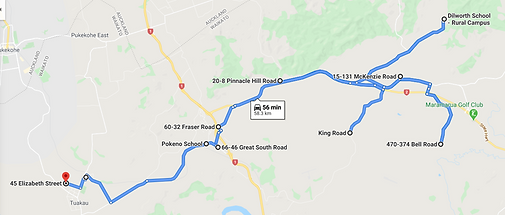 TK8 Morning Route