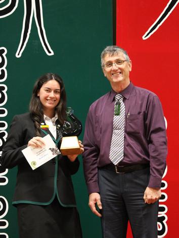 Aspiring Leader (Nga Hau e Wha Marae) Award: Brooke Wilson