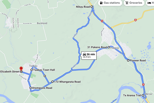 TK5 Morning Route