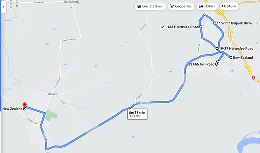 TK10 Morning Route