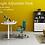 Thumbnail: Frank Tech Height Adjustable Computer Desk Standing Office Desk