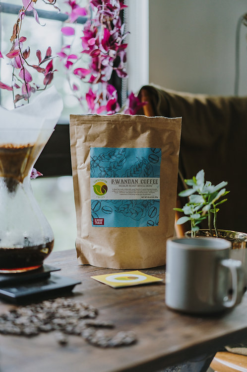Organic Rwandan Coffee 12oz