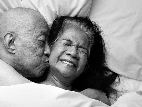 Rankin and Relate launch campaign to break the age-old taboo:Let's Talk the Joy of Later Life Sex