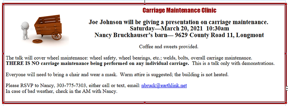 Carriage Maint Ad.png