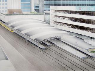 池袋駅屋根改修