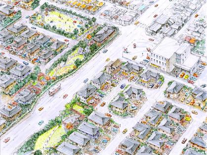 住宅再開発計画