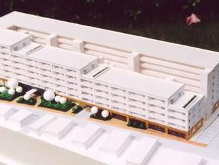 建築スタディ模型