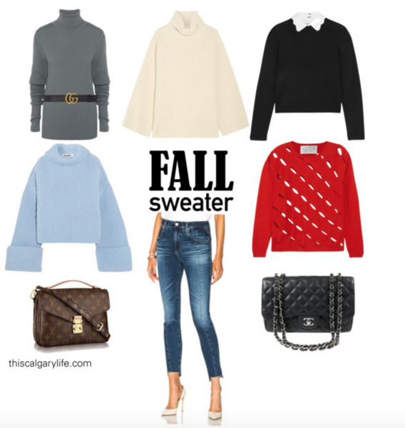 Favourite Fall sweaters