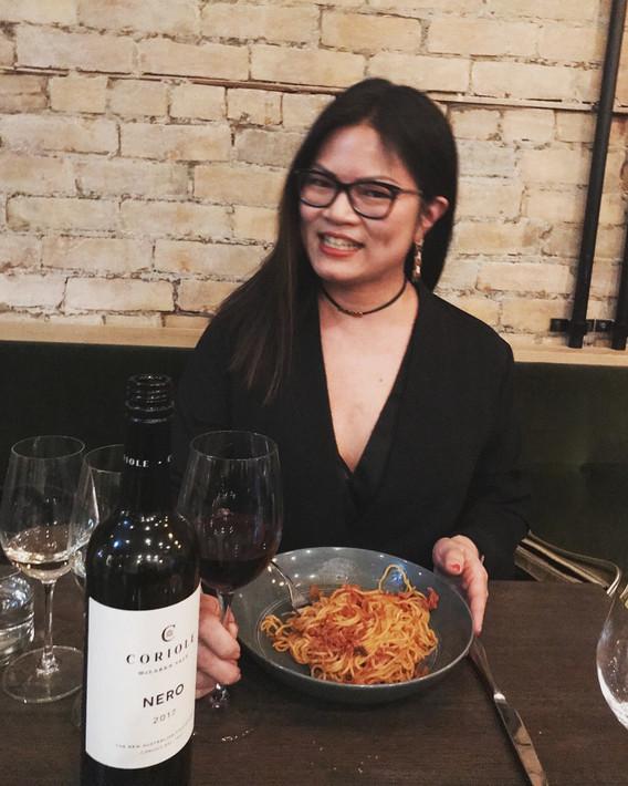Wine dinner at Cardinale
