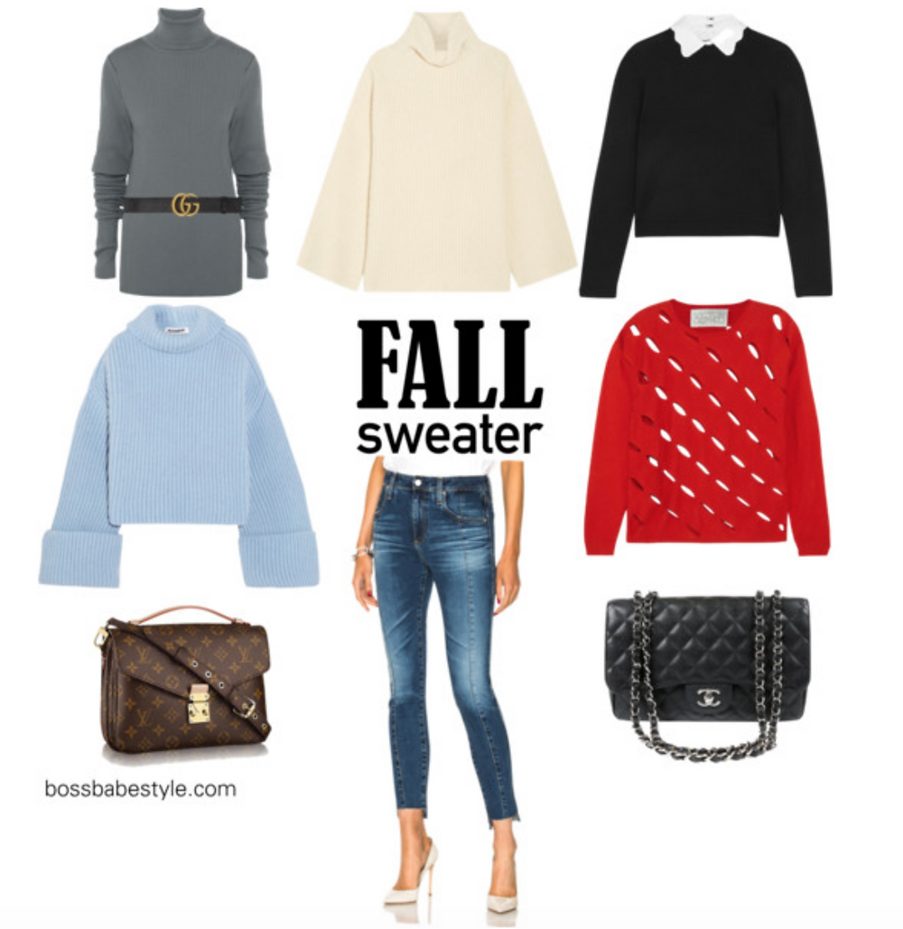 Cozy sweaters for weekend casual