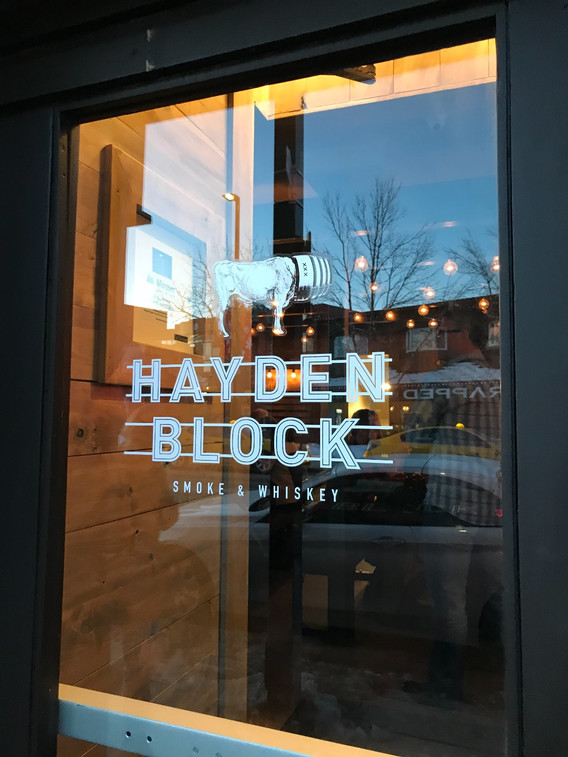 Whisky Club privileges at Hayden Block