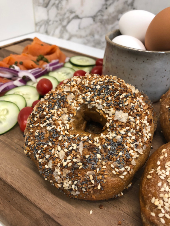 Beautiful bagels